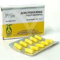 Механізм впливу ліки «доксициклін» при простатиті