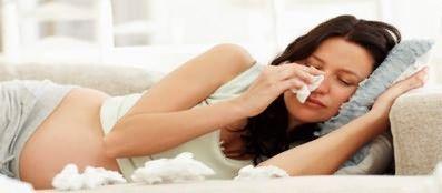 Краплі в ніс від алергії для вагітних