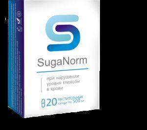 Огляд капсул від діабету suga norm