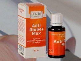 «Anti diabet max» - краплі від діабету