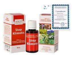 Краплях «stop klimaks» від клімаксу і склад