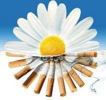 нікотин викликає негативну реакцію