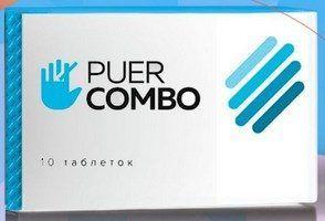 Таблетках «puer combo» від куріння