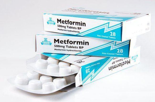 Метформін бігуанід, 500 мг
