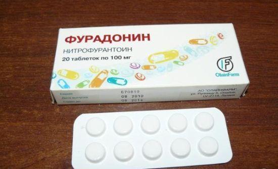 Таблетки від циститу фурадонин: показання, можливі побічні ефекти