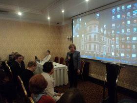 У санкт-петербурзі 9 грудня 2015 р відбулася конференція в рамках всеросійської медико-соціальної програми «кашель в центрі уваги!»