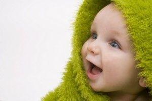 Здоровий малюк без лікарів.